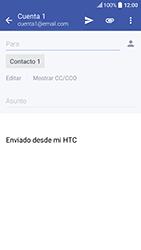 HTC 10 - E-mail - Escribir y enviar un correo electrónico - Paso 8