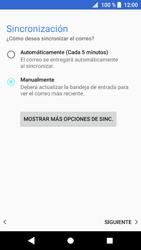 Sony Xperia XZ1 - E-mail - Configurar correo electrónico - Paso 21