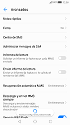 Huawei P10 - MMS - Configurar el equipo para mensajes de texto - Paso 7