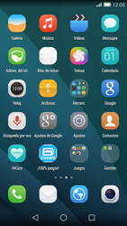 Huawei Ascend G7 - WiFi - Conectarse a una red WiFi - Paso 3
