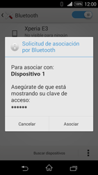 Sony D2203 Xperia E3 - Connection - Conectar dispositivos a través de Bluetooth - Paso 7