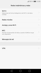 Huawei P9 - MMS - Configurar el equipo para mensajes multimedia - Paso 5
