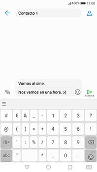 Huawei P10 Plus - MMS - Escribir y enviar un mensaje multimedia - Paso 13