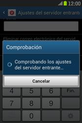 Samsung S6310 Galaxy Young - E-mail - Configurar correo electrónico - Paso 12