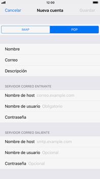 Apple iPhone 7 Plus iOS 11 - E-mail - Configurar correo electrónico - Paso 11