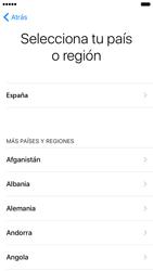 Apple iPhone 6s iOS 10 - Primeros pasos - Activar el equipo - Paso 7