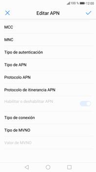 Huawei Mate 9 - Internet - Configurar Internet - Paso 12
