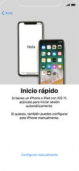 Apple iPhone X - Primeros pasos - Activar el equipo - Paso 9