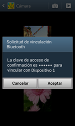 Samsung I8260 Galaxy Core - Connection - Transferir archivos a través de Bluetooth - Paso 13