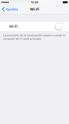 Apple iPhone SE - WiFi - Conectarse a una red WiFi - Paso 4