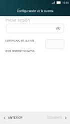 Huawei Y5 - E-mail - Configurar Outlook.com - Paso 8