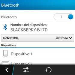 BlackBerry Q5 - Connection - Conectar dispositivos a través de Bluetooth - Paso 7