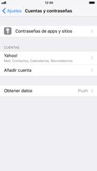 Apple iPhone 6s iOS 11 - E-mail - Configurar Yahoo! - Paso 9
