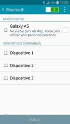 Samsung A500FU Galaxy A5 - Connection - Conectar dispositivos a través de Bluetooth - Paso 6
