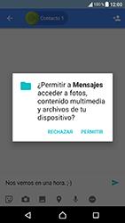 Sony Xperia XA1 - MMS - Escribir y enviar un mensaje multimedia - Paso 10