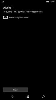 Microsoft Lumia 950 XL - E-mail - Configurar Yahoo! - Paso 12