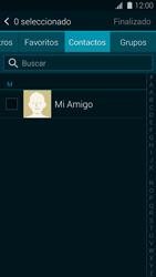 Samsung G900F Galaxy S5 - MMS - Escribir y enviar un mensaje multimedia - Paso 6