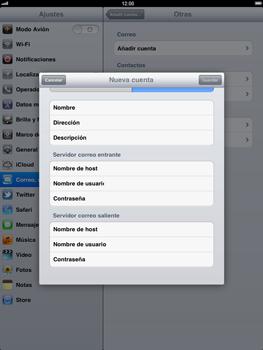 Apple iPad 2 - E-mail - Configurar correo electrónico - Paso 12