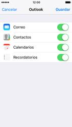 Apple iPhone SE - iOS 10 - E-mail - Configurar Outlook.com - Paso 9