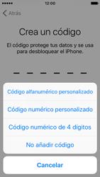 Apple iPhone SE - Primeros pasos - Activar el equipo - Paso 15
