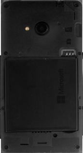 Microsoft Lumia 535 - Primeros pasos - Quitar y colocar la batería - Paso 4