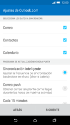 HTC One M9 - E-mail - Configurar Outlook.com - Paso 7