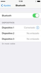 Apple iPhone 5s - Connection - Conectar dispositivos a través de Bluetooth - Paso 7