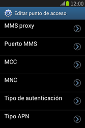 Samsung S6310 Galaxy Young - Internet - Configurar Internet - Paso 12