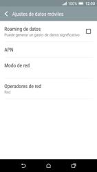 HTC One A9 - Internet - Configurar Internet - Paso 6