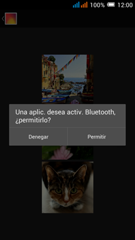 Alcatel Pop C9 - Connection - Transferir archivos a través de Bluetooth - Paso 12
