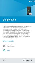 BlackBerry DTEK 50 - Primeros pasos - Activar el equipo - Paso 19
