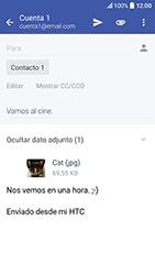 HTC 10 - E-mail - Escribir y enviar un correo electrónico - Paso 16