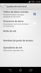Sony D2203 Xperia E3 - MMS - Configurar el equipo para mensajes multimedia - Paso 6