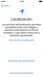 Apple iPhone 5s iOS 10 - Primeros pasos - Activar el equipo - Paso 9