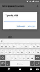 Sony Xperia XZ1 - MMS - Configurar el equipo para mensajes multimedia - Paso 13