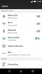 HTC One M8 - Red - Activar o desactivar el modo avión - Paso 4