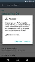 Sony Xperia XA1 - Internet - Activar o desactivar la conexión de datos - Paso 6