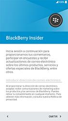 BlackBerry DTEK 50 - Primeros pasos - Activar el equipo - Paso 18