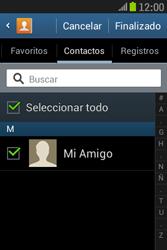 Samsung S6310 Galaxy Young - E-mail - Escribir y enviar un correo electrónico - Paso 7