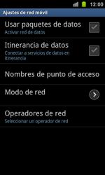 Samsung I8160 Galaxy Ace II - Internet - Activar o desactivar la conexión de datos - Paso 7