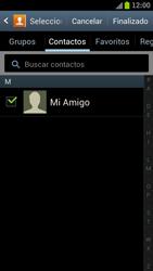 Samsung I9300 Galaxy S III - MMS - Escribir y enviar un mensaje multimedia - Paso 8