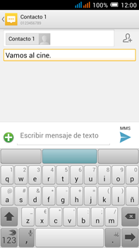 Alcatel Pop C9 - MMS - Escribir y enviar un mensaje multimedia - Paso 12