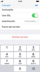 Apple iPhone 5s - iOS 11 - E-mail - Configurar correo electrónico - Paso 19