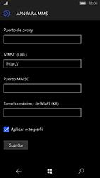 Microsoft Lumia 950 - MMS - Configurar el equipo para mensajes multimedia - Paso 11