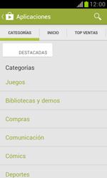 Samsung S7560 Galaxy Trend - Aplicaciones - Descargar aplicaciones - Paso 7