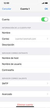 Apple iPhone X - E-mail - Configurar correo electrónico - Paso 22