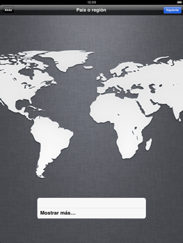 Apple iPad 2 - Primeros pasos - Activar el equipo - Paso 4