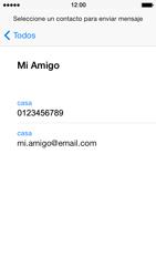 Apple iPhone 5s - MMS - Escribir y enviar un mensaje multimedia - Paso 6