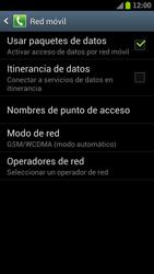 Samsung I9300 Galaxy S III - Internet - Activar o desactivar la conexión de datos - Paso 6