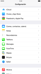 Apple iPhone 6 Plus iOS 8 - E-mail - Configurar Gmail - Paso 3